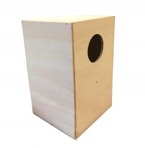 Nido de madera loros