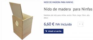 Comprar Nido ninfas